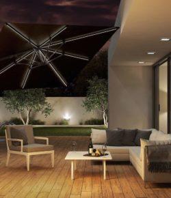 Po co nam parasol tarasowy łamany?