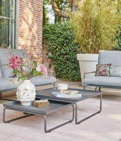 Siedziska ogrodowe w strefach wypoczynkowych